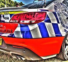 Highway Patrol, New South Wales, Australia. by Ian Ramsay
