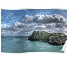 St Catherines Rock Tenby Pembrokeshire 5 Poster