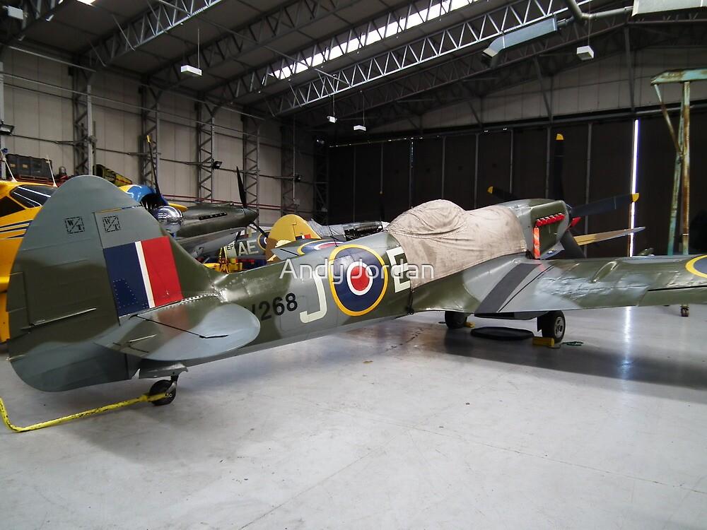 MV268 Spitfire FRXIVE(G-SPIT) by Andy Jordan