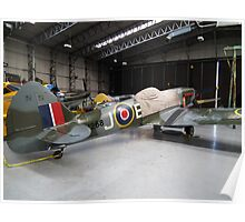MV268 Spitfire FRXIVE(G-SPIT) Poster
