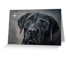 Black Beauty (Christmas card) Greeting Card