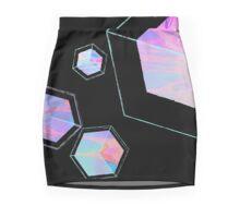 Ivory Tower / Black Mini Skirt