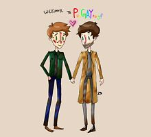 Welcome to PurGAYtory - Destiel Unisex T-Shirt