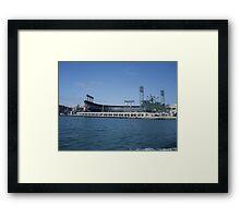 Giants stadium Framed Print