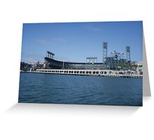Giants stadium Greeting Card