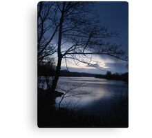 Hail Shower Coming Canvas Print