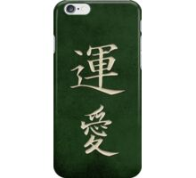Luck & Love Green iPhone Case/Skin