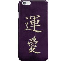 Luck & Love Purple iPhone Case/Skin