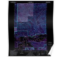 USGS Topo Map Washington State WA Randle 243375 1994 24000 Inverted Poster