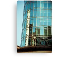 Blue City-10 Canvas Print