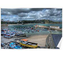 Tenby Harbour Pembrokeshire 11 Poster
