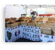 French Biscuits Metal Print