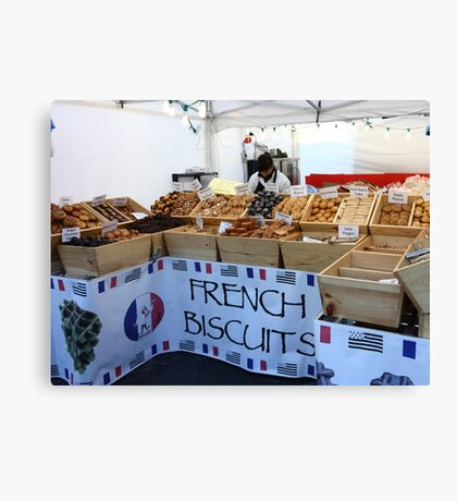 French Biscuits Canvas Print