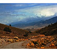 Approaching Antelope Valley Photographic Print