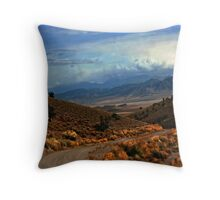 Approaching Antelope Valley Throw Pillow