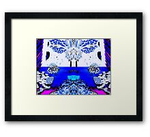 Crouching Bulldogs, Hidden Penguin (UF0521) Framed Print