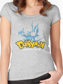 Danymon Women's Fitted Scoop T-Shirt