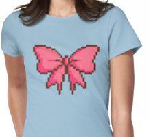 8bit Lolita Bow Womens Fitted T-Shirt