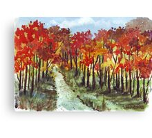 Delicious Autumn! Canvas Print