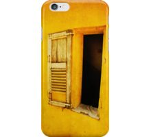 yellow shutter iPhone case iPhone Case/Skin
