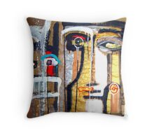 masks of night skies 14 Throw Pillow