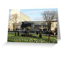 civic garden  Greeting Card
