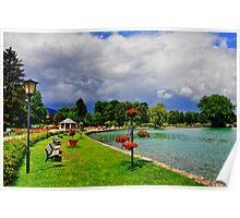 Lake Tegern (Tegernsee) Germany Poster