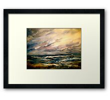 Winter and Rough Weather Framed Print