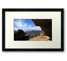 ~ Dragon in the Clouds ~ Framed Print