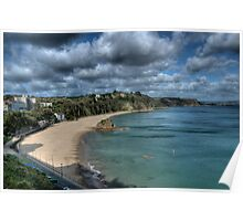 North Beach Tenby Pembrokeshire 3 Poster