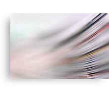 Yesterday's news is already fading away... Canvas Print