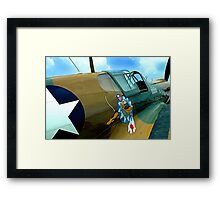 The Jacky C II Framed Print