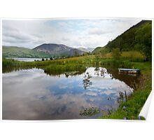 Cloud Pond Near Ennerdale, Cumbria Poster