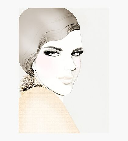 Fashion Portrait Photographic Print