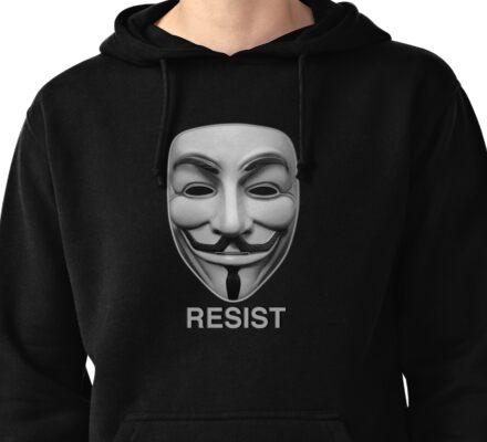 Resist Pullover Hoodie