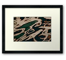 Reflections on Water at Harbourfront Framed Print