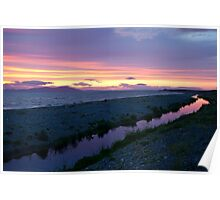 The Purple Stream at Allonby Poster