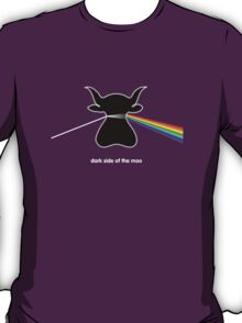 Dark Side of the Moo - T shirt T-Shirt