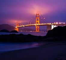 Golden Gate Bridge from Baker Beach by Topher Gentry