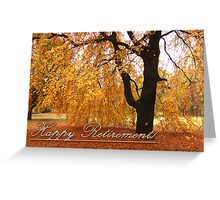 Greeting Card: Glowing Foliage Greeting Card