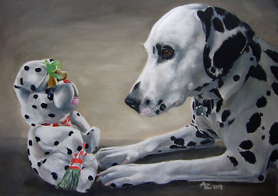 Little Friend With Bells On by Anne Zoutsos