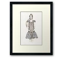 Chanel Spring 2012 Illustration Framed Print