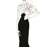 Isaac Mizrahi Spring 2012 Ready to Wear Illustration by Anoma Natasha Paleebut