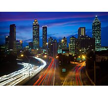 Atlanta Skyline Photographic Print