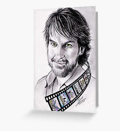 Peter Jackson portrait Greeting Card