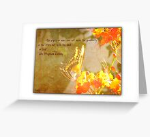 The Hand of God Greeting Card