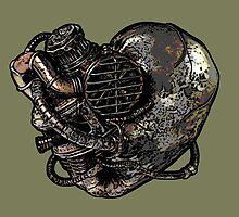 Steampunk Heart by GrimDork