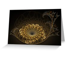 Fossil Sunflower Greeting Card