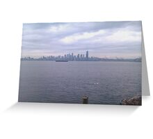 Alki Beach, Wa Greeting Card