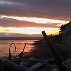 Alki Beach Sun Set by kylemeling